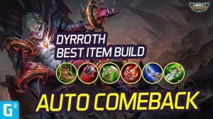 Build Dyrroth Jess No Limits Auto Mythic