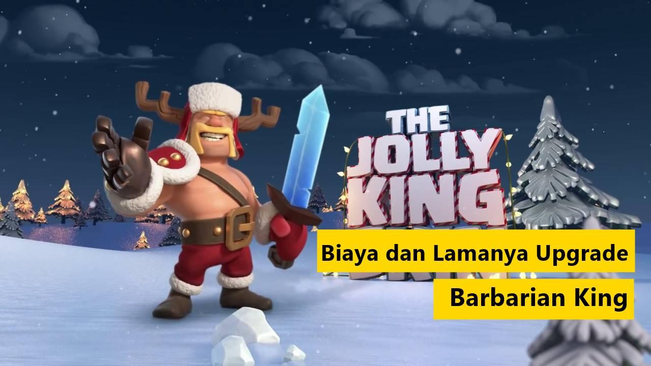 biaya upgrade barbarian King