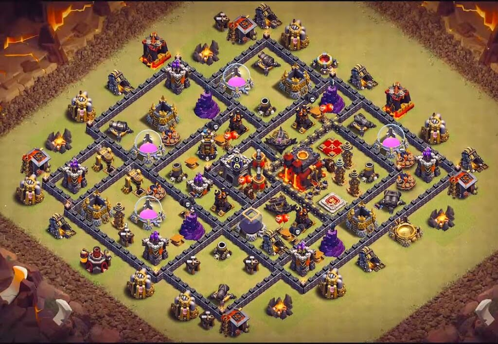 Base WAR TH 9 Terkuat 2020
