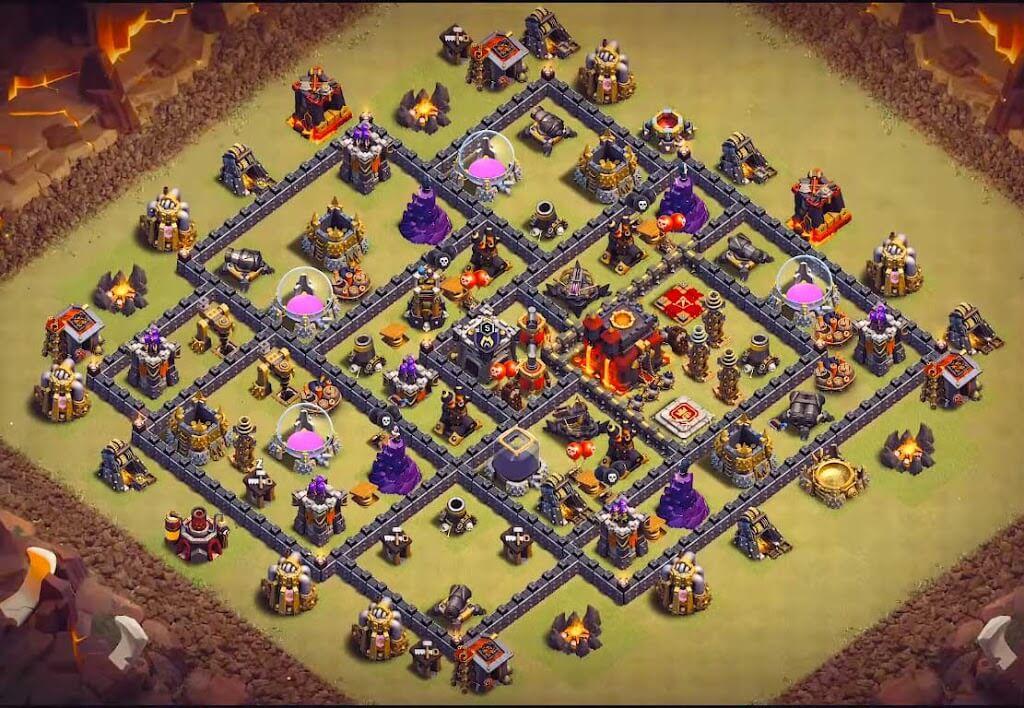 Base WAR TH 9 Terkuat 2020