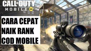 Cara Cepat Naik Level Call of Duty Mobile