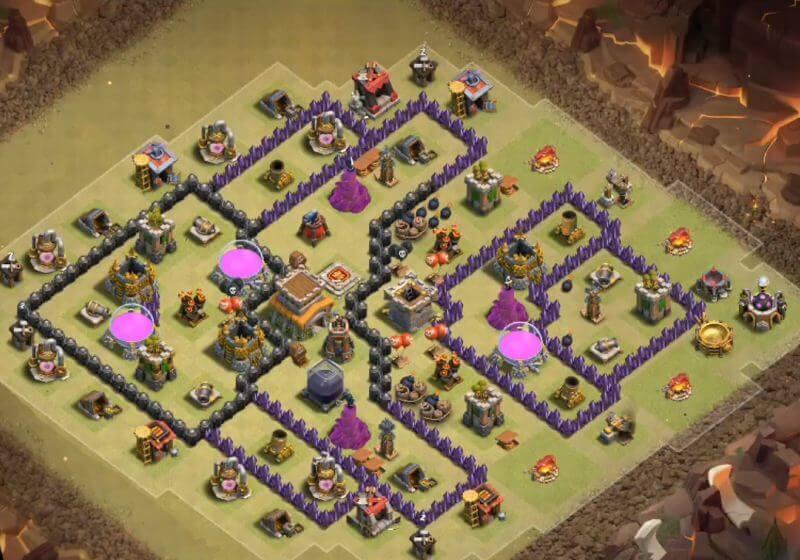 Base war th 8 terkuat